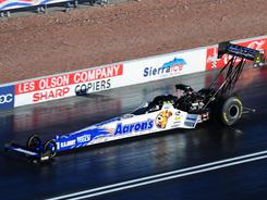 Antron Brown earned his 26th career victory by defeating Brandon Bernstein in the Top Fuel final.