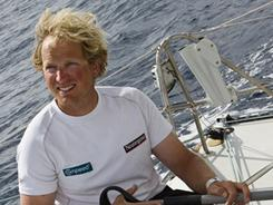 Ryan Breymaier is the only American sailor competing in the Barcelona World Race.