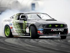 "Vaughn Gittin Jr. hopes to bring new eyes to the ""next-generation"" modified Mustang."