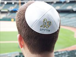 The Oakland Athletics will hold Jewish Heritage NIght at the ballpark this year.