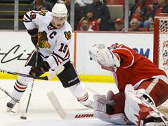 Blackhawks captain Jonathan Toews has a history of rising up in big games.