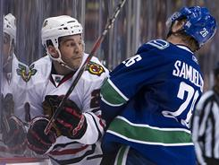 The Blackhawks and Canucks are rivals after meeting in the playoffs the past two seasons. Chicago won both and faces Vancouver again.