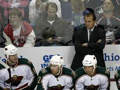 The Minnesota Wild fired coach Todd Richards after he missed the playoffs the past three seasons.