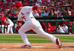 St. Louis Cardinals outfielder Matt Holliday missed only nine days following his appendectomy. His entire recovery occurred in just the first period for many fantasy leagues.
