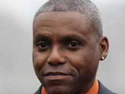 Carl Lewis is expected to file as a Democratic challenger to New Jersey Republican state senator Dawn Addiego on Monday.