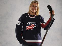 Angela Ruggiero was on the U.S. women's hockey team that won gold in 1998, silver in 2002, bronze in 2006 and silver in 2010.