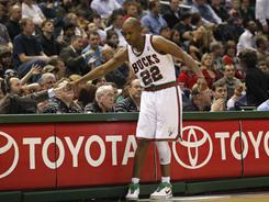 Michael Redd, entering Monday's game against the  Raptors, may have played his last game with the Bucks in Milwaukee.