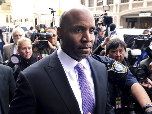 barry bonds verdict. Barry Bonds leaves federal