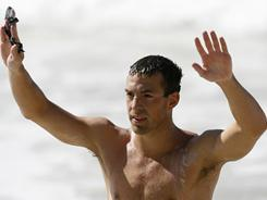 Fran Crippen, shown in this 2007 photo, died after suffering apparent heat exhaustion at an open-water swimming event in the United Arab Emirates last October.