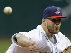 Indians starter Justin Masterson allowed one run over seven innings of work, helping Cleveland beat the Baltimore Orioles 8-2.
