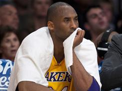 Lakers guard Kobe Bryant took responsibility for his choice of words after directing a expletive-filled homophobic slur toward referee Bennie Adams.