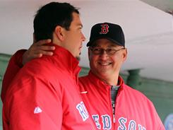 Josh Beckett's effort on Saturday made Red Sox manager Terry Francona crack a rare smile. The right-hander worked eight one-run innings of a 4-1 win over the Blue Jays that upped Boston's record to 3-10.
