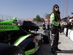 Danica Patrick, who's more proficient on ovals, had one of her best road- and street-course races at Long Beach in 2009 when she finished fourth.