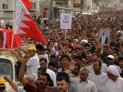 Anti-government protests in Bahrain started on Feb. 14 and have led to a severe crackdown.