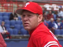 Lenny Dykstra played in the majors from 1985-96.