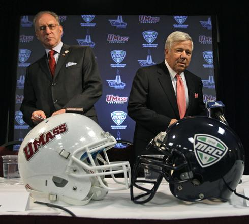 Image result for umass football announce move to fbs