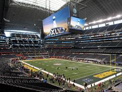 Cowboys Stadium, site of Super Bowl XLV, is adding bowling to its resume.