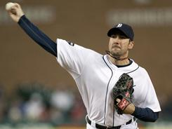 Justin Verlander allowed three runs on four hits with eight strikeouts over seven innings in the Tigers' 9-3 win over the slumping White Sox on Friday night. The Tigers are now 10-10.