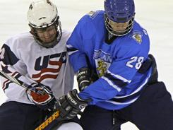 The USA's Tyler Biggs has been a presence at the world under-18 championships.