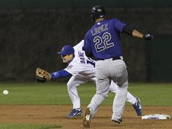 The Cubs allowed five runs but only one of them was earned thanks to four errors as the Rockies came back to beat Chicago 5-3.