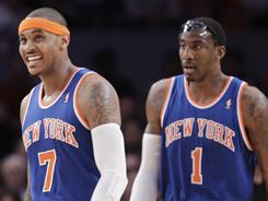 Knicks forwards Carmelo Anthony and Amar'e Stoudemire, the faces of the franchise, would like to have input in the direction of the team.