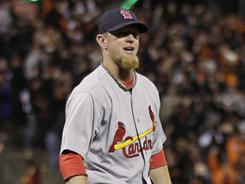 Ryan Franklin has blown four-of-five games this season for the Cardinals.