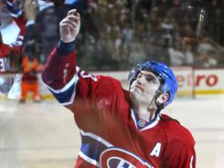 Michael Cammalleri has been productive for the Canadiens while the Bruins' offensive players haven't been as effective.