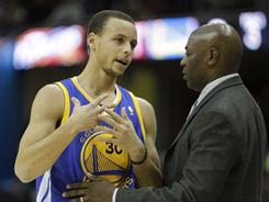 Keith Smart, fired as Golden State Warriors coach Wednesday, had his issues getting second-year guard Stephen Curry on the same page.
