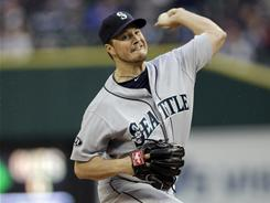 Erik Bedard threw seven innings of one-run ball and he got his first win since 2009 during the Mariners' 10-1 rout of the Tigers. Bedard threw just 88 pitches to get through seven innings.