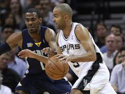 The Spurs' Tony Parker had 24 points in Wednesday night's win against the Grizzlies.