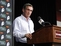 Redskins coach Mike Shanahan says his team has considered moving up or down from their 10th overall draft position.