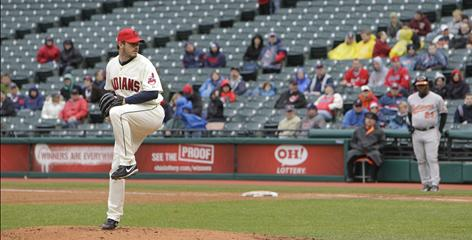 Chad Durbin and the Indians are among four major league teams in the Rust Belt grappling with falling attendance amid economic hardship.
