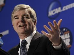 NCAA President Mark Emmert wants a review of all football bowl games.