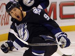 Tampa Bay's Steve Downie is averaging more a point a game while averaging 10 minutes a game.