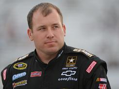 Ryan Newman, seen here during qualifying of the  Matthew & Daniel Hansen 400 on Friday, went to the hauler on his own after the race at Richmond on Saturday night.
