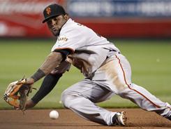 San Francisco Giants third baseman Pablo Sandoval will miss 4-6 weeks.