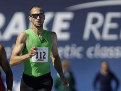 Jeremy Wariner wins the men's special 400 meters at the Drake Relays April 30 in Des Moines.