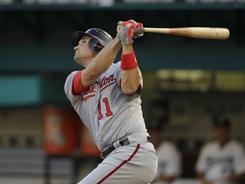 Ryan Zimmerman has played in just eight games this season but is hitting .357.