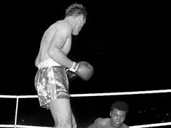 Henry Cooper, best known for knocking down Muhammad Ali when he was formerly known as Cassius Clay, died Sunday. He was 76.
