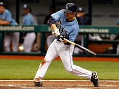 Rays outfielder Sam Fuld has quickly turned into a Tampa Bay phenom thanks to his energetic style.