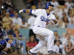 Andre Ethier's 29-game hit streak is the longest by a Dodger in 42 years.