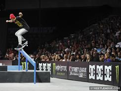 Chaz Ortiz is one of the top competitors entered in this weekend's Street League Skateboarding DC Pro Tour Fueled by Monster Energy.