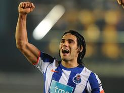 Striker Radamel Falcao and Porto advanced to the Europa League final despite losing on Thursday.