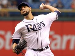 David Price threw 8 2/3 shutout innings against the Blue Jays to win his fourth game.