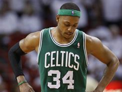 Boston Celtics forward Paul Pierce knows he won't get much rest in Game 3 of the playoff series Saturday vs. the Miami Heat, down 0-2.