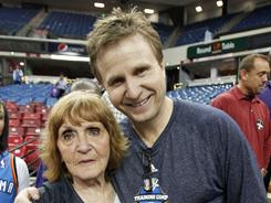 Oklahoma City Thunder coach Scott Brooks looks to his mom when the going gets tough for all the lessons she imparted.