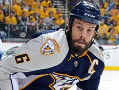 "Predators captain Shea Weber says of the Canucks: ""They're going to try and finish us off and we're going to prevent that."""