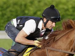 Robby Albarado, the orignal jockey for Animal Kingdom, had to watch from the sidelines as the horse won the Kentucky Derby.
