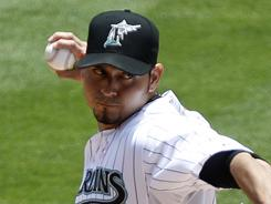 Marlins' Anibal Sanchez took a no-hitter inot the seventh inning.