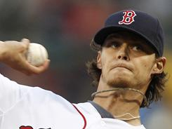 Clay Buchholz, above, and teammate John Lackey have both underperformed for the Red Sox and fantasy owners. 